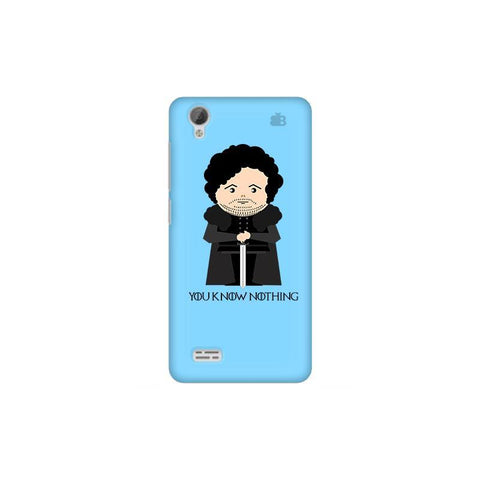 You Know Nothing Vivo 31L Phone Cover