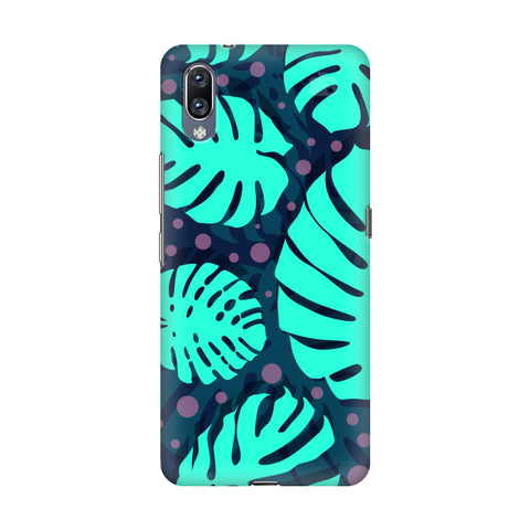 Tropical Leaves Pattern Vivo Nex S Cover
