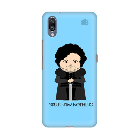 You Know Nothing Vivo Nex S Cover