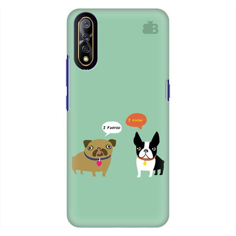 Cute Dog Buddies Vivo S1 Cover