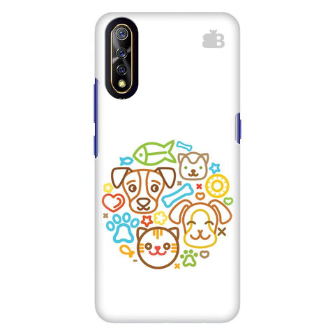 Cute Pets Vivo S1 Cover