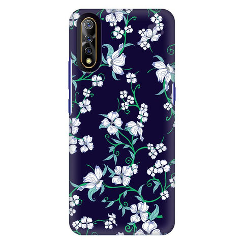 Dogwood Floral Pattern Vivo S1 Cover
