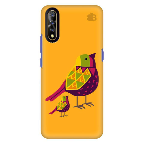 Mom Kid Bird Vivo S1 Cover