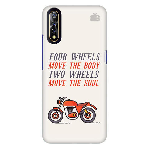 Motorcyclist Vivo S1 Cover