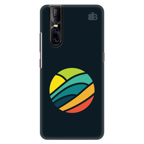 Abstract Circle Vivo V15 Pro Cover