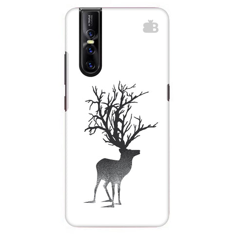 Abstract Deer Vivo V15 Pro Cover