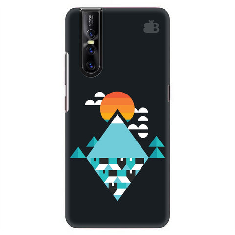 Abstract Mountains Vivo V15 Pro Cover