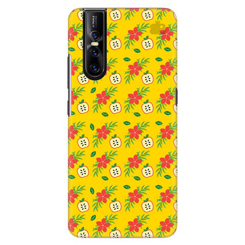 Apples & Flowers Vivo V15 Pro Cover
