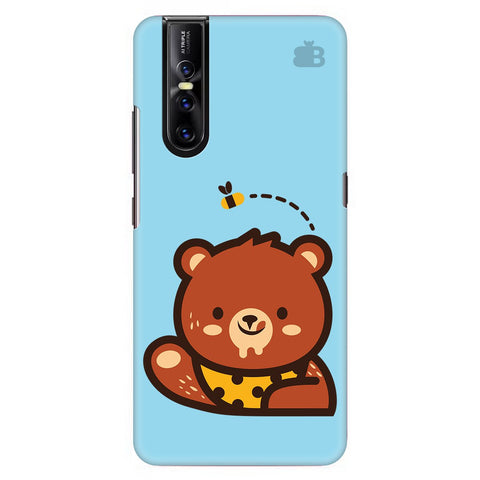 Bear Loves Honey Vivo V15 Pro Cover