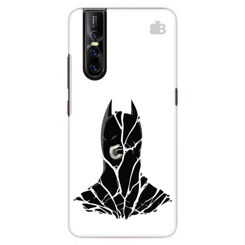 Cracked Superhero Vivo V15 Pro Cover