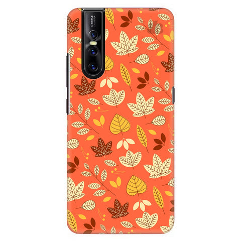 Cute Leaves Pattern Vivo V15 Pro Cover