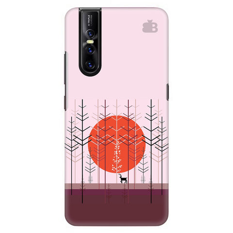 Deer In Forest Vivo V15 Pro Cover