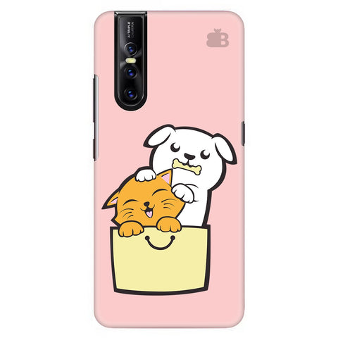 Kitty Puppy Buddies Vivo V15 Pro Cover