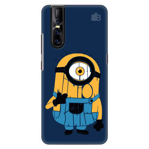 Minion Typography Vivo V15 Pro Cover