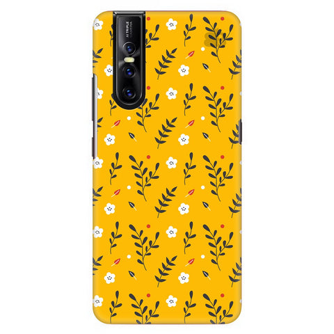 Summer Floral Pattern Vivo V15 Pro Cover