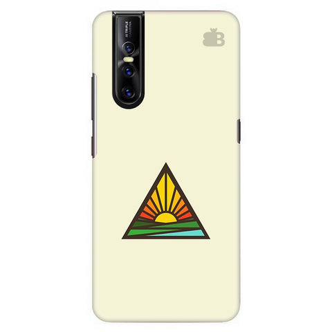 Triangular Sun Vivo V15 Pro Cover