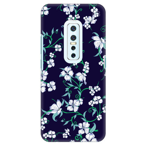 Dogwood Floral Pattern Vivo V17 Pro Cover
