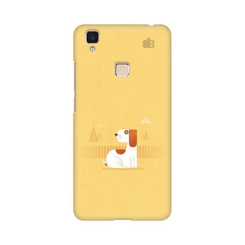 Calm Dog Vivo V3 Max Phone Cover