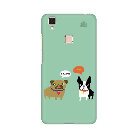 Cute Dog Buddies Vivo V3 Max Phone Cover