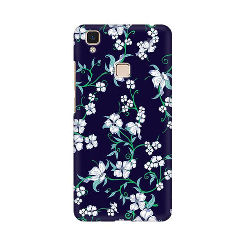 Dogwood Floral Pattern Vivo V3 Max Phone Cover
