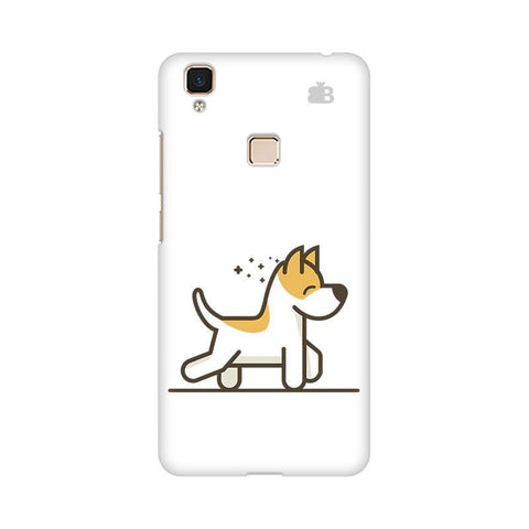 Happy Puppy Vivo V3 Max Phone Cover