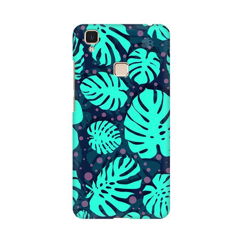 Tropical Leaves Pattern Vivo V3 Max Phone Cover