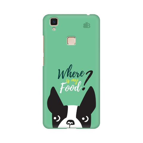 Where is my Food Vivo V3 Max Phone Cover