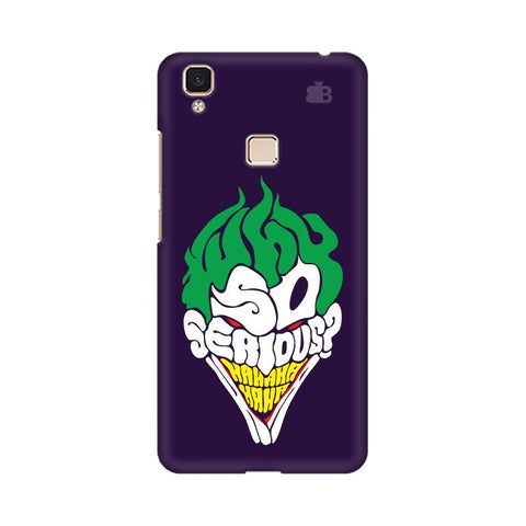 Why So Serious Vivo V3 Max Phone Cover