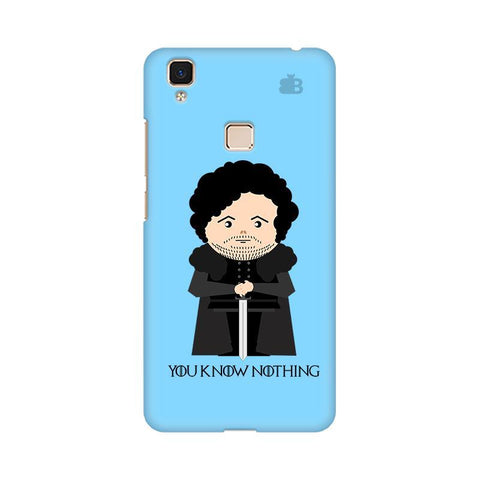 You Know Nothing Vivo V3 Max Phone Cover