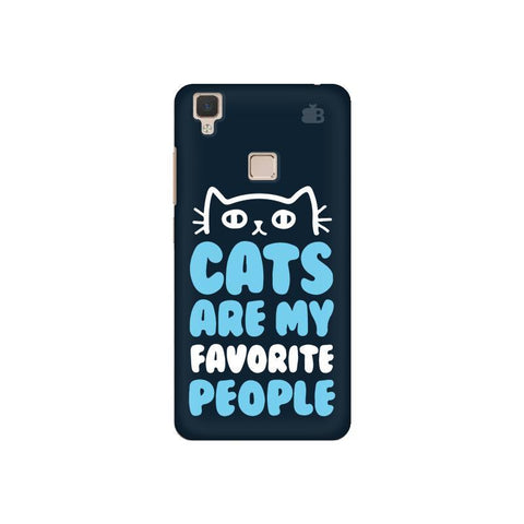 Cats favorite People Vivo V3 Phone Cover