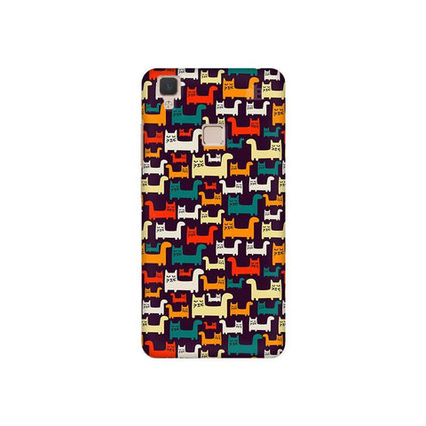 Chill Cats Vivo V3 Phone Cover