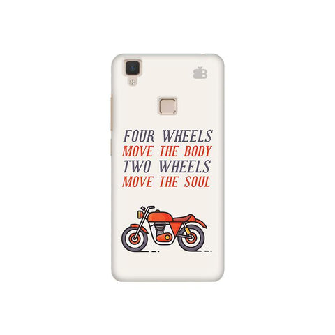 Motorcyclist Vivo V3 Phone Cover