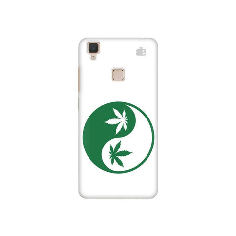 Weed Yin Yang Vivo V3 Phone Cover