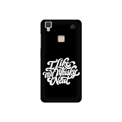 Whiskey Neat Vivo V3 Phone Cover