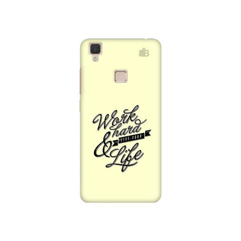 Work Hard Vivo V3 Phone Cover