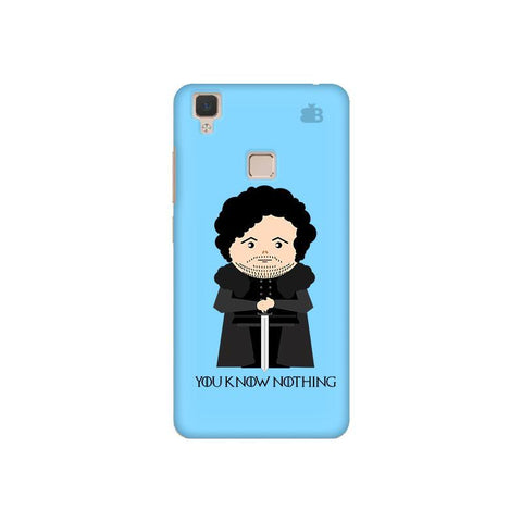 You Know Nothing Vivo V3 Phone Cover