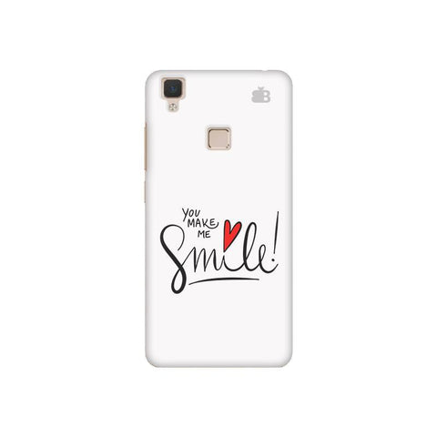 You make me Smile Vivo V3 Phone Cover