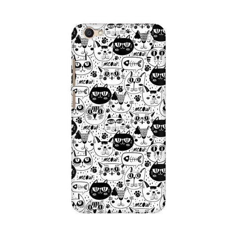 Cute Cats Pattern Vivo V5 Plus Phone Cover