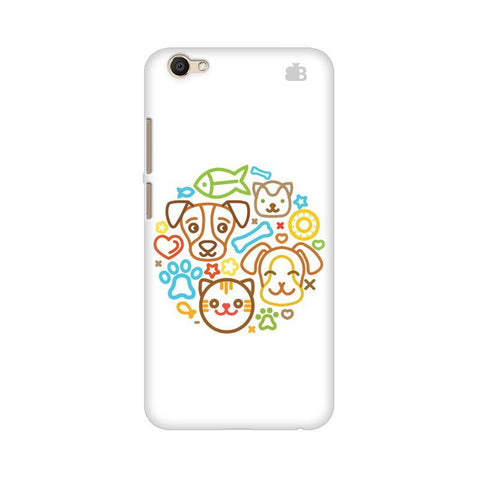 Cute Pets Vivo V5 Plus Phone Cover