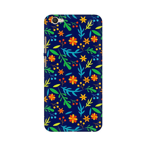 Vibrant Floral Pattern Vivo V5 Plus Phone Cover