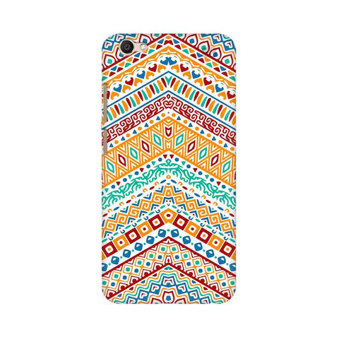 Wavy Ethnic Art Vivo V5 Plus Phone Cover
