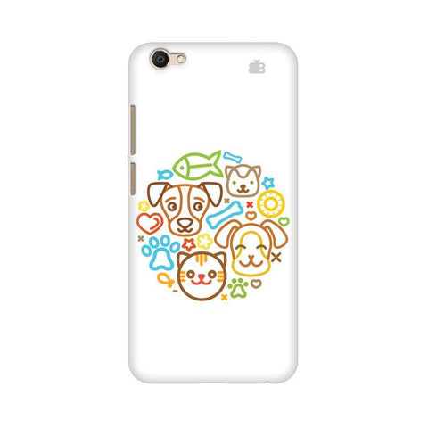Cute Pets Vivo V5s Phone Cover