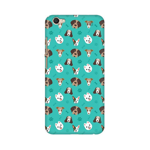 Doggie Pattern Vivo V5s Phone Cover