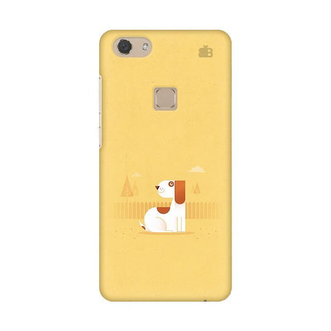 Calm Dog Vivo V7 Phone Cover