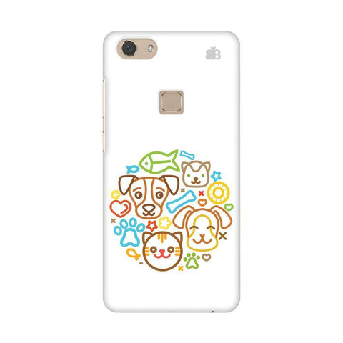 Cute Pets Vivo V7 Phone Cover