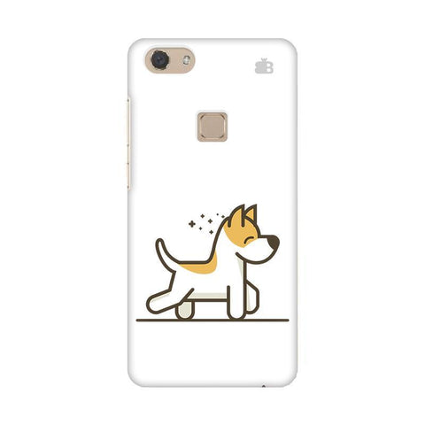 Happy Puppy Vivo V7 Phone Cover