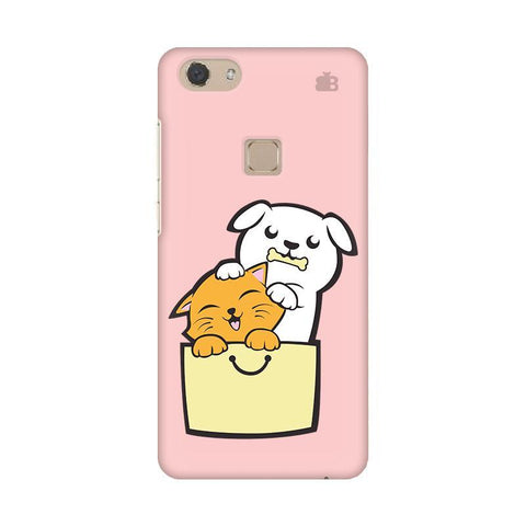Kitty Puppy Buddies Vivo V7 Phone Cover