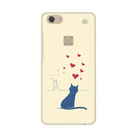 Kitty in Love Vivo V7 Phone Cover
