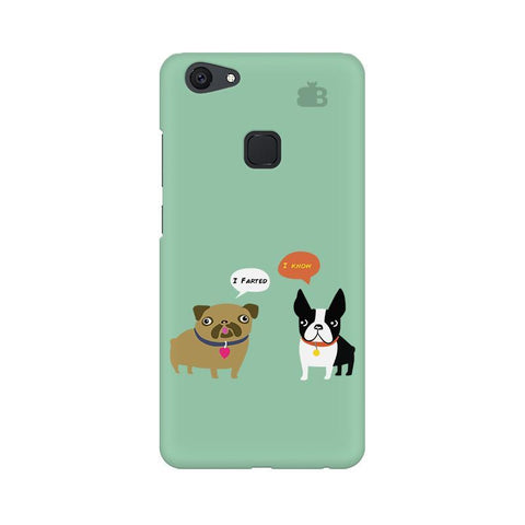 Cute Dog Buddies Vivo V7 Plus Phone Cover