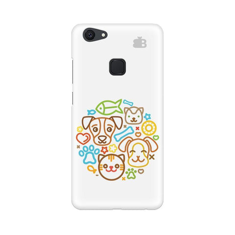 Cute Pets Vivo V7 Plus Phone Cover
